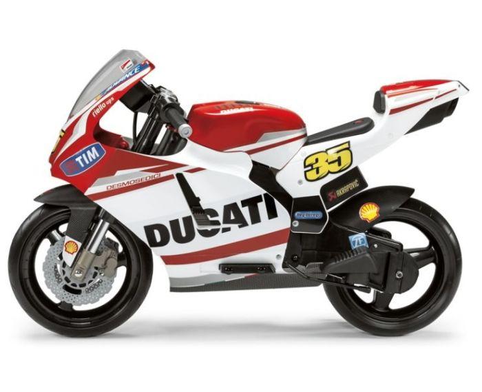 Motocicleta electrica DUCATI GP - Peg Perego 0