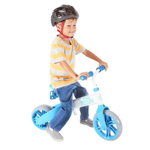 Tricicleta si bicicleta fara pedale Ybike Yvelo Flippa 2in1 3