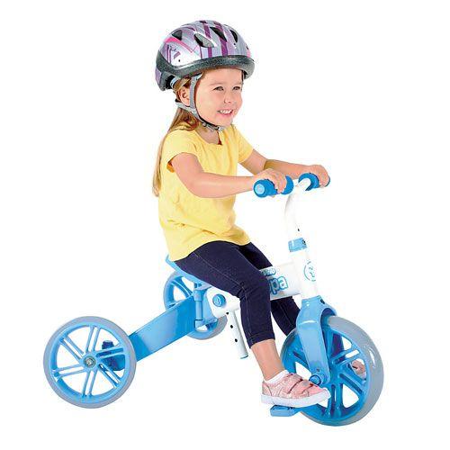Tricicleta si bicicleta fara pedale Ybike Yvelo Flippa 2in1 2