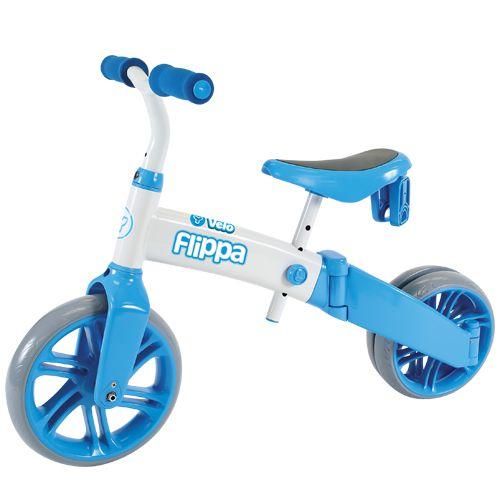 Tricicleta si bicicleta fara pedale Ybike Yvelo Flippa 2in1 4