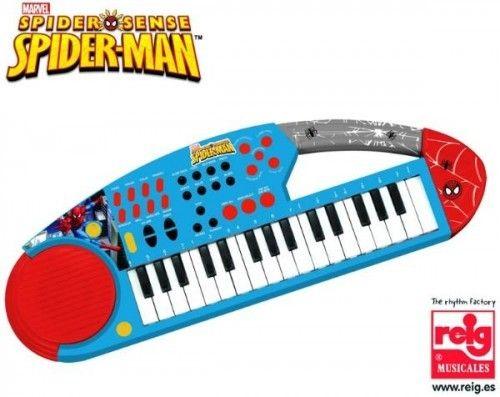 Orga electronica cu microfon Spiderman - Reig Musicales 0