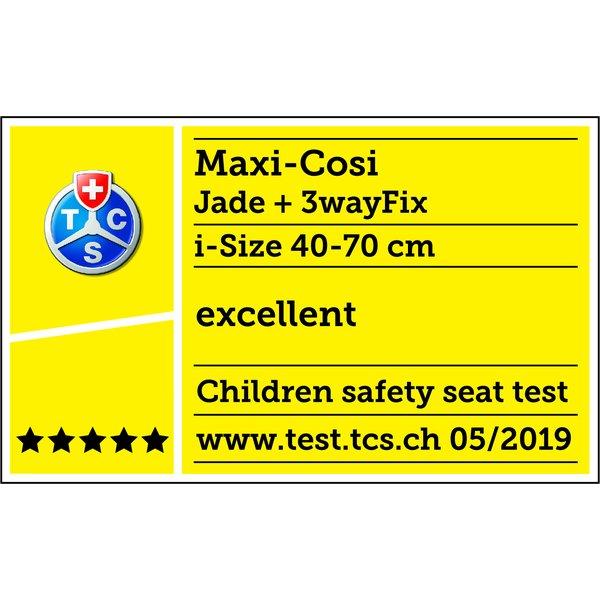 Pachet landou Maxi Cosi i-size Jade + baza auto 3wayfix [2]