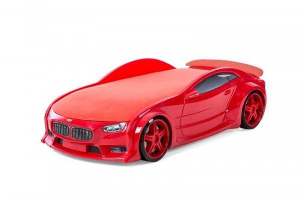 Pat masina tineret MyKids NEO BMW Rosu [0]