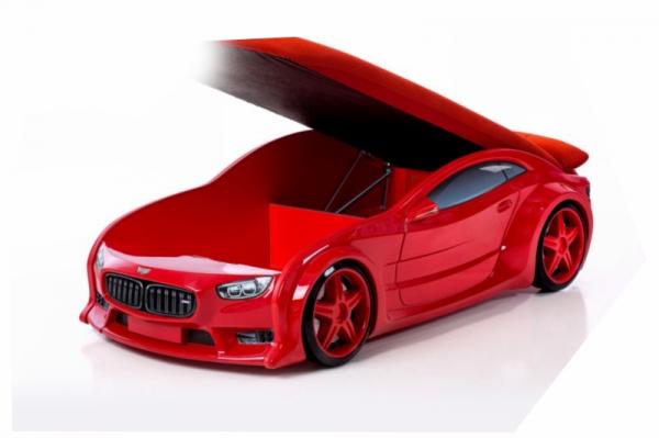Pat masina tineret MyKids NEO BMW Rosu [2]