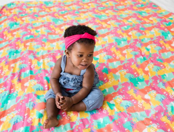 Patura Tula Paint Pallette 150 x 200 cm - Baby Tula 1