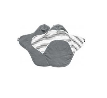 Paturica Coco reversibila grey striped Wallaboo 1