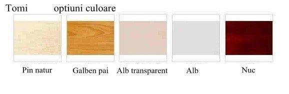 Patut din lemn Tomi XI color laterala culisanta 4