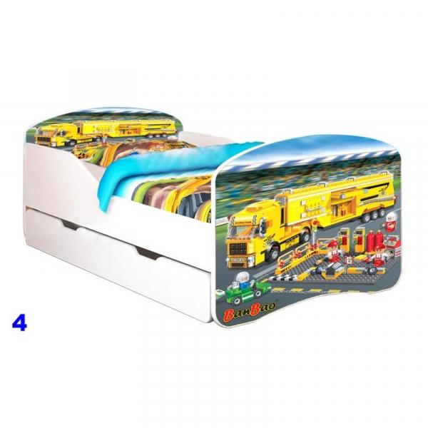 Patut Nobiko Rainbow Banbao 160X80 cu saltea 0