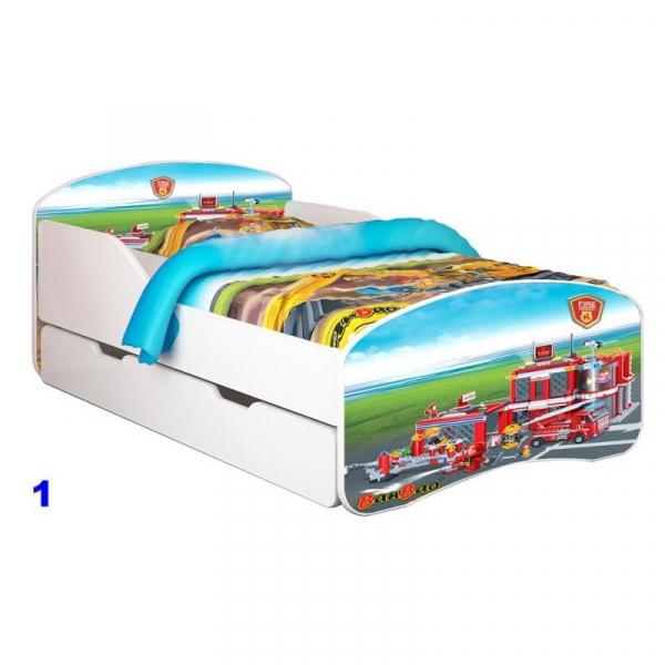 Patut Nobiko S Rainbow Banbao 140X70 saltea si sertar [0]