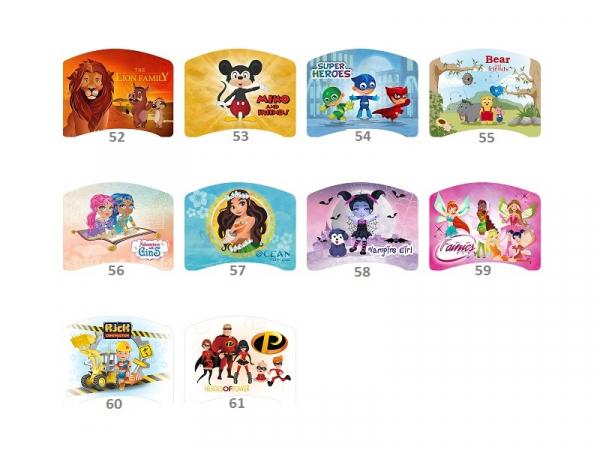 Patut Tineret MyKids Lucky 55 Bear and Friends-140x80 [3]