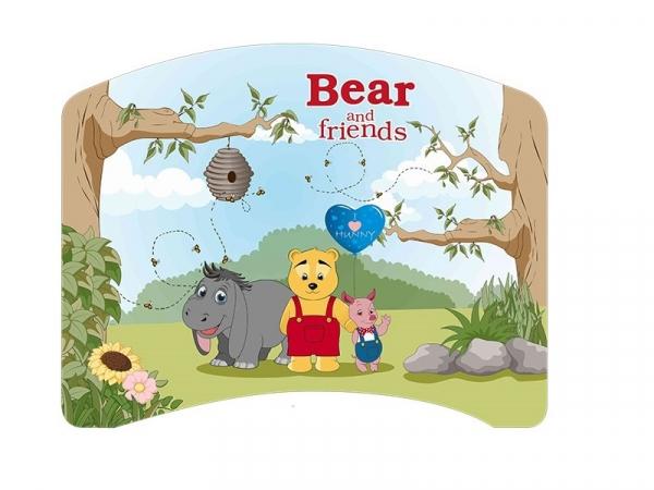 Patut Tineret MyKids Lucky 55 Bear and Friends-140x80 [1]