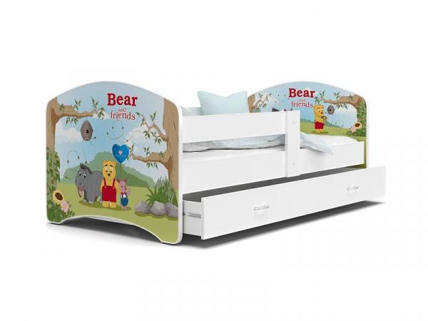 Patut Tineret MyKids Lucky 55 Bear and Friends-140x80 [0]