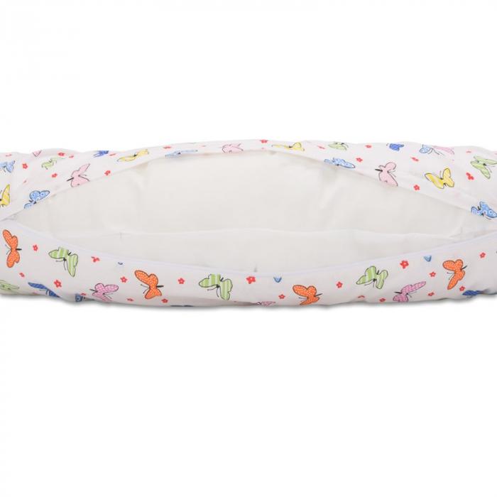 Perna 3 in 1 pentru gravide si bebelusi Soft Plus Fluturasi Multicolor - BabyNeeds [2]