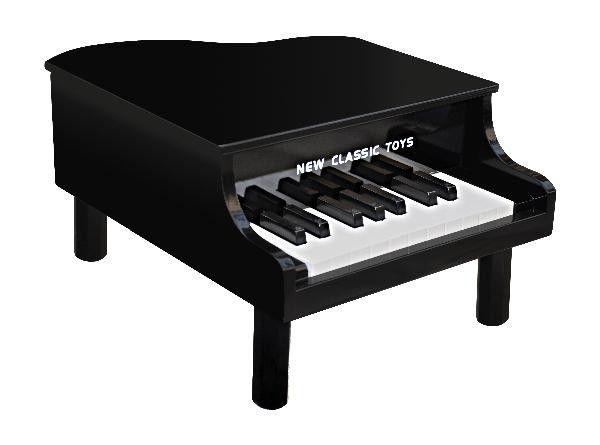 Pian Grand Piano - Negru - New Classic Toys 0