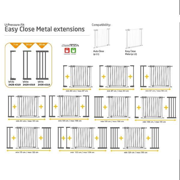 Poarta de siguranta Easy Close metal Safety 1st 5