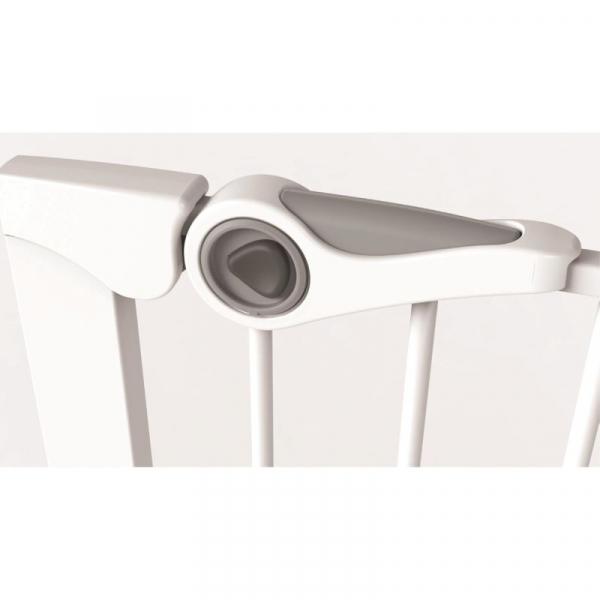 Poarta de siguranta Noma Easy Fit, presiune, 75-82 cm, metal alb, N93439 [2]