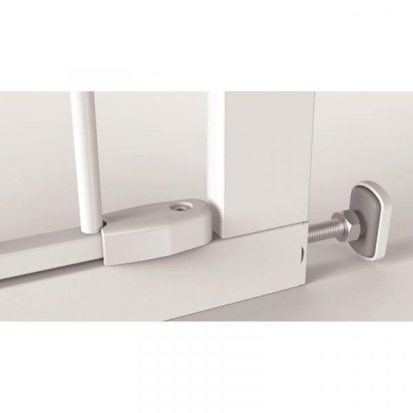 Poarta de siguranta Noma Easy Fit, presiune, 75-82 cm, metal alb, N93439 [3]