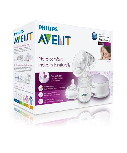 Pompa electronica pentru san Natural - Philips Avent 5
