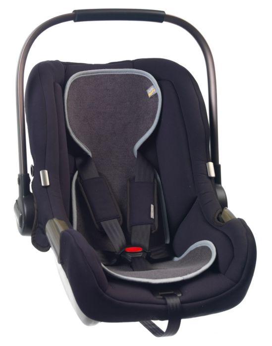 Protectie antitranspiratie scaun auto GR 0+ BBC Organic Anthracite - Aerosleep 1