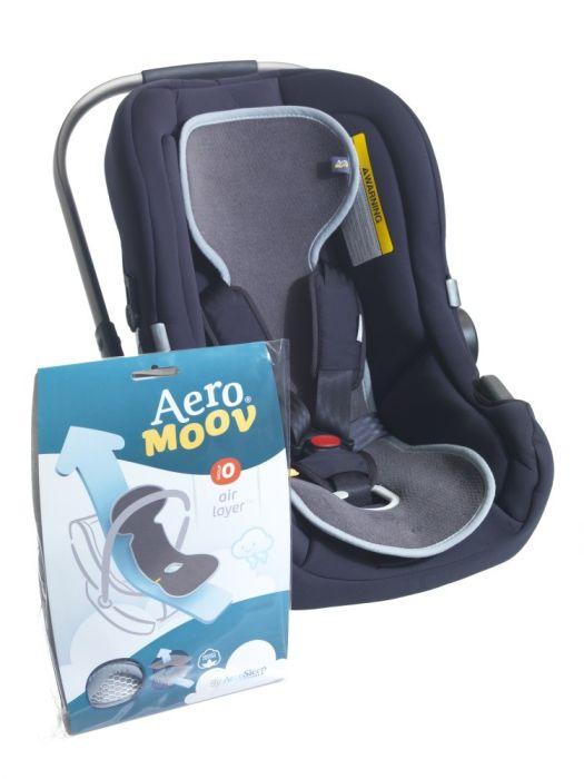 Protectie antitranspiratie scaun auto GR 0+ BBC Organic Anthracite - Aerosleep 3