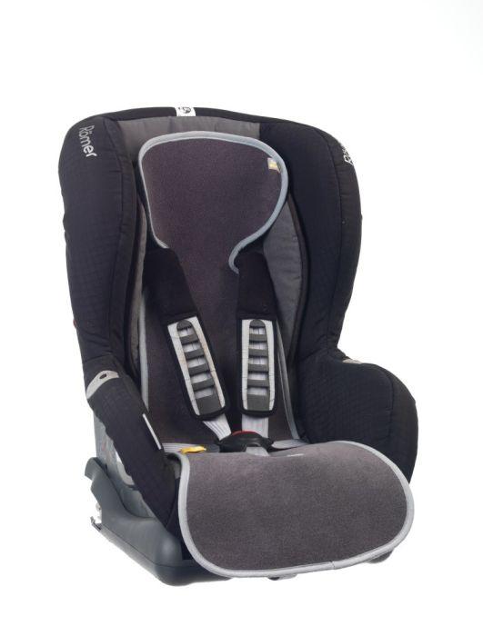 Protectie antitranspiratie scaun auto GR 1 BBC Organic Anthracite - Aerosleep 1