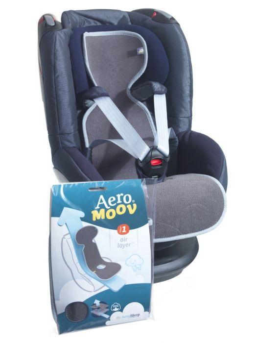 Protectie antitranspiratie scaun auto GR 1 BBC Organic Anthracite - Aerosleep 2