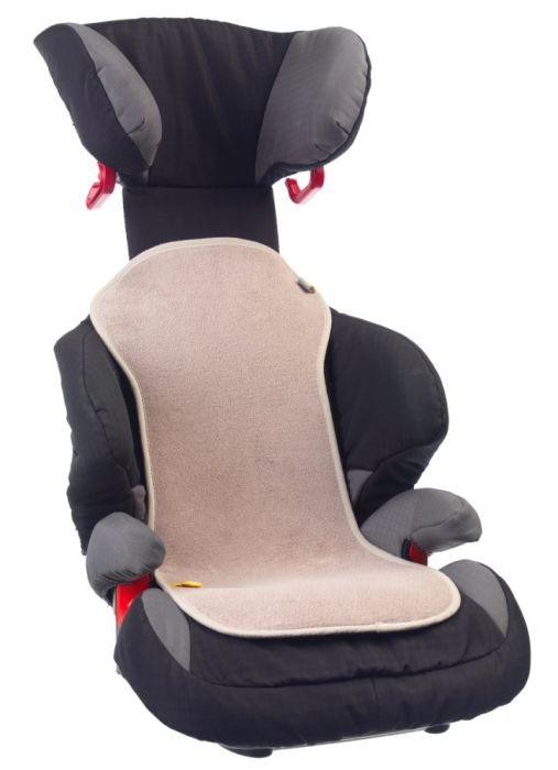 Protectie antitranspiratie scaun auto GR 2-3 BBC Organic Sand - Aerosleep 1