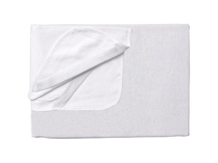 Protectie impermeabila pentru saltea 120x60 cm alb 1