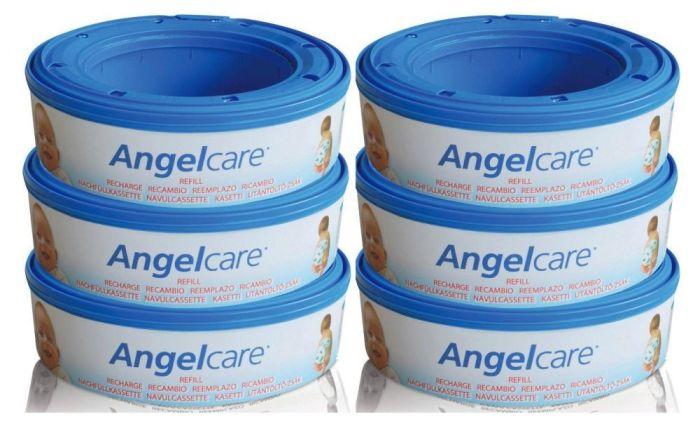 Rezerva pentru cos ermetic scutece murdare - set 6 buc Angelcare [0]