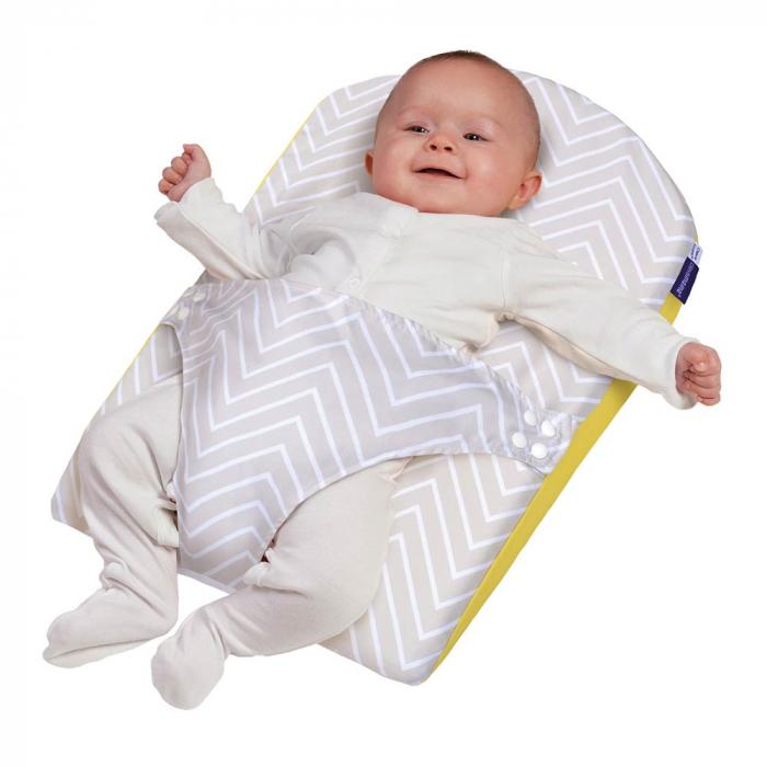 Saltea anti-alunecare cu ham pentru bebelusi Clevamama 0