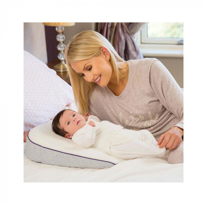 Saltea anti-alunecare cu ham pentru bebelusi ClevaSleep® Plus Clevamama 3