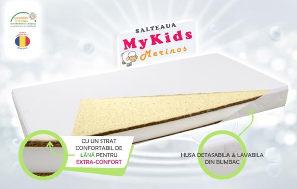 Saltea Fibra Cocos MyKids Merinos 120x60x11 (cm) [0]