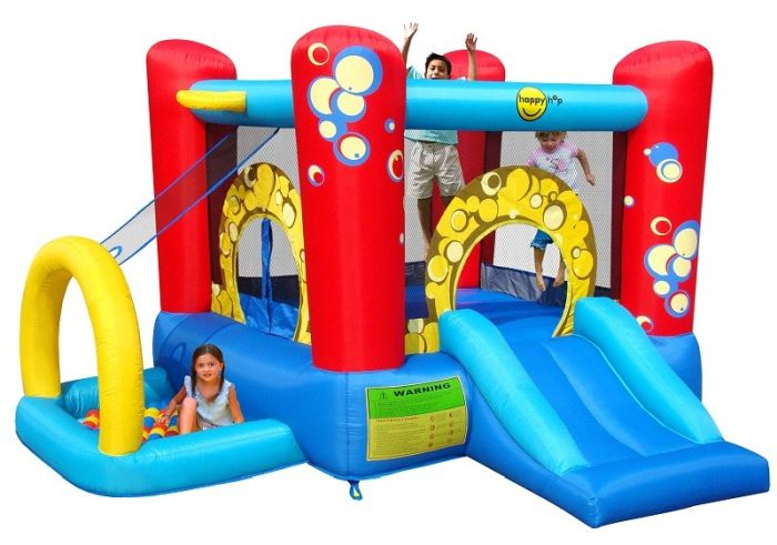 Saltea gonflabila Buble Play center 4 in 1 - Happy hop 0