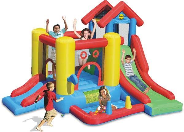Saltea gonflabila Play center 7 in 1 - Happy hop [0]