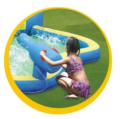 Saltea gonflabila Splash wave - Happy hop [4]