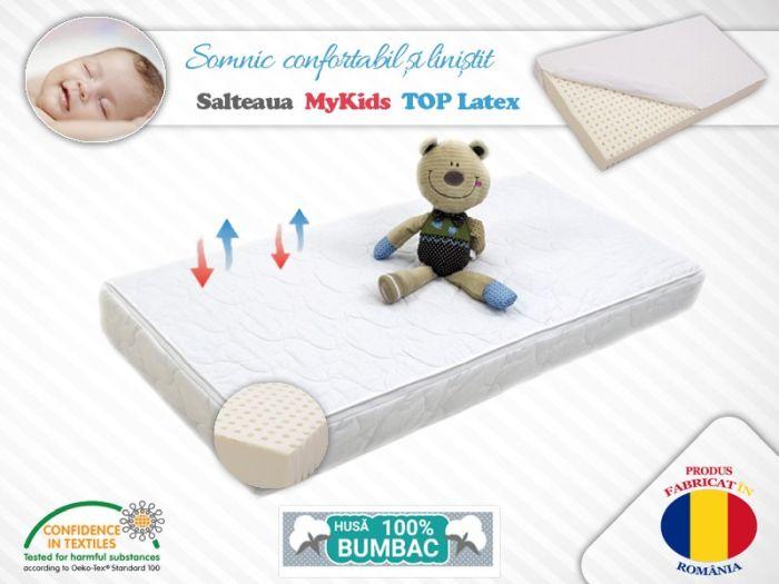 Saltea MyKids TOP Latex 120x60x10 (cm) 0