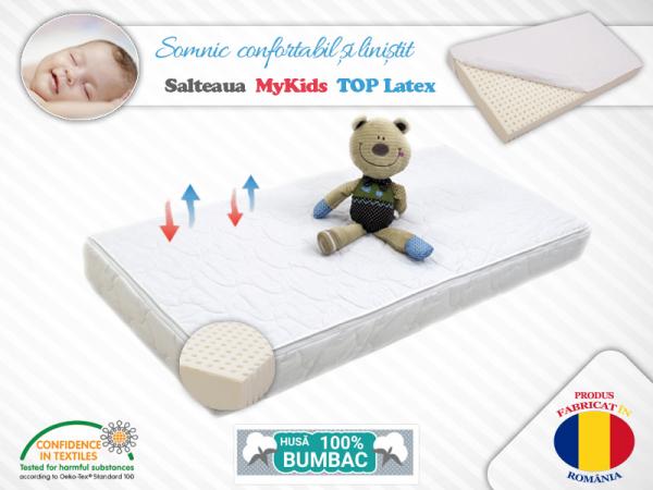 Saltea MyKids TOP Latex 140x70x10 (cm) [0]