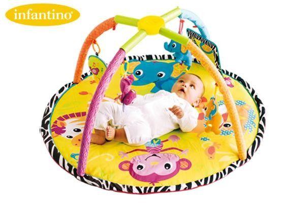 Saltea pentru bebelusi - Twist & Fold Activity Gym Mat - Step2 0