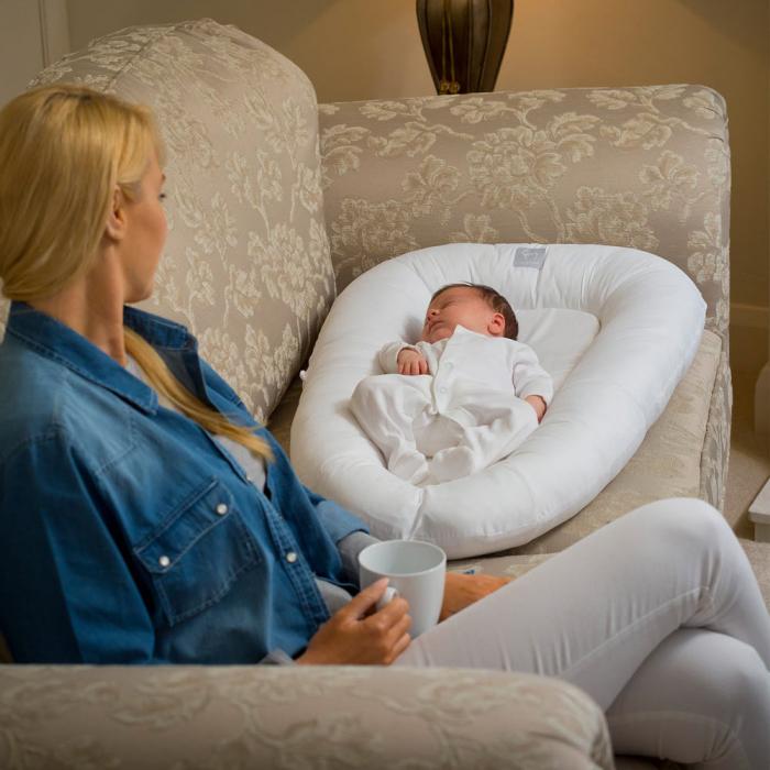 Salteluta bebelusi pentru dormit Clevamama 3