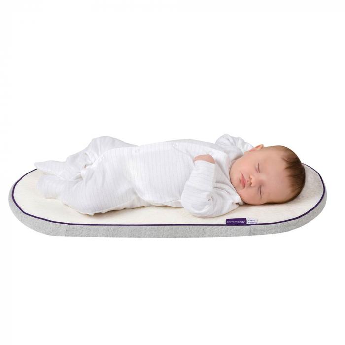 Salteluta bebelusi pentru landou 74cmx30cm Clevamama 1