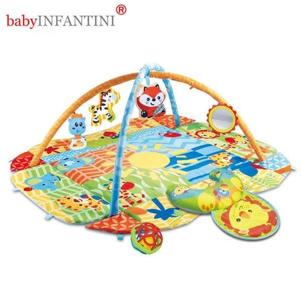 Salteluta de activitati Jungle - babyINFANTINI 0