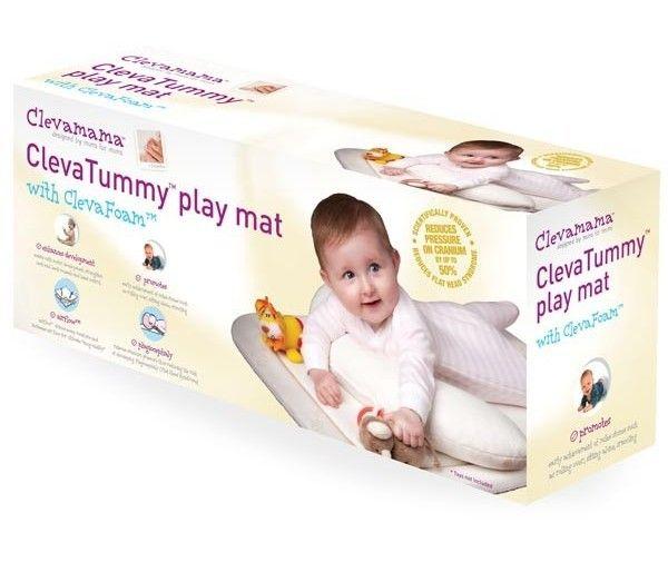 Salteluta de joaca TummyTime Clevamama 1