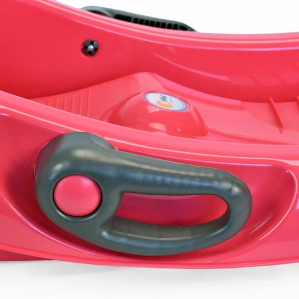 Sanie KHW Snow Flipper de Luxe rosie 2