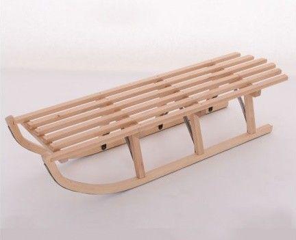 Saniuta mare din lemn Mesterel
