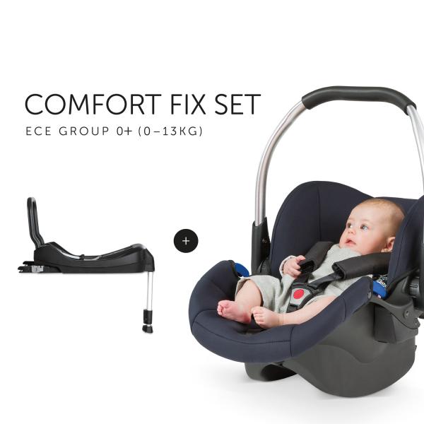 Scaun Auto 0-13 kg si Baza Comfort Fix Set - Hauck [6]