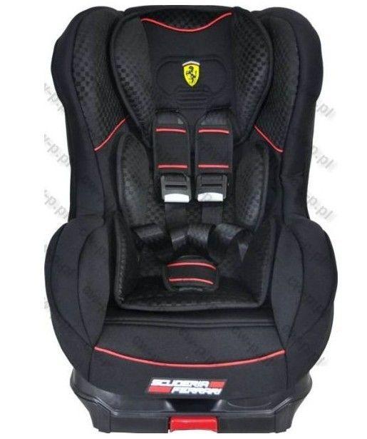 Scaun auto 9-18 kg Cosmo SP Isofix Ferrari black 0