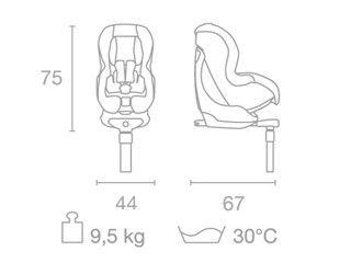 Scaun auto copii 9-18 kg isofix SPF1 SA-ATS Kiwy 1