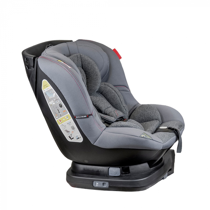 Scaun auto Millo rotativ 360 grade cu ISOFIX 0-18 kg Coletto 4
