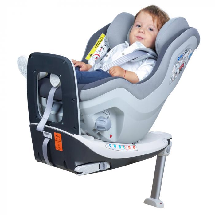 Scaun auto Rear Facing rotativ Tiago 0-18 kg KidsCare 7