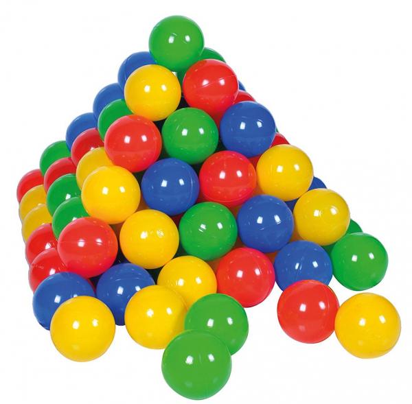 Set 250 bile colorate Multicolor - Knorrtoys [0]